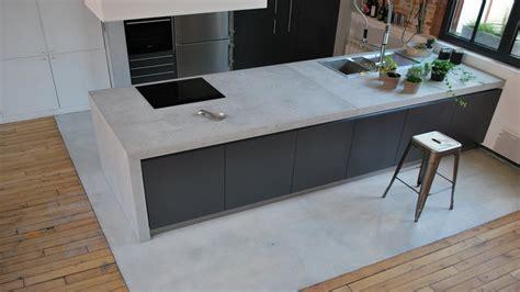 plan de travail en b ton cir cuisine beton cir cuisine plan travail bton cir plan de travail