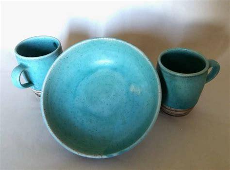 Set Türkis by Pasta Teller Tassen Set T 252 Rkis Keramikatelier Sch 246 Ning