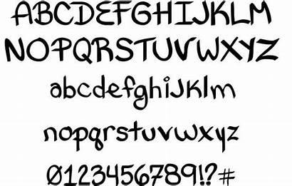 Letter Styles Letters Fonts Font Alphabet Cartoon