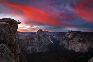 Nature, Landscape, Hiking, Sunrise, Yosemite, Valley, Sky