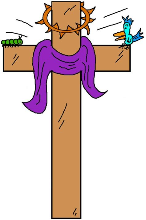 Cross Clip Easter Clipart Cross Pencil And In Color Easter Clipart