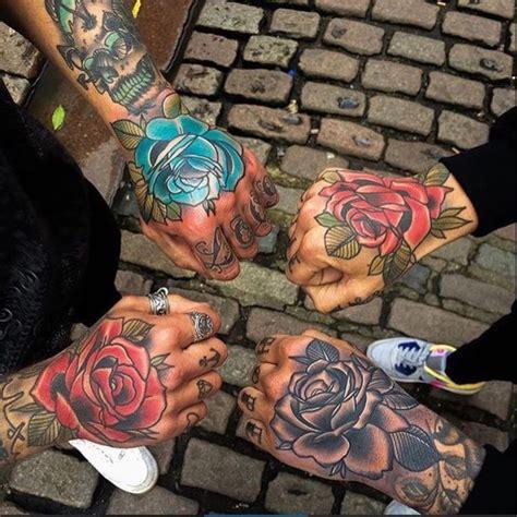 50+ Amazing Rose Hand Tattoos