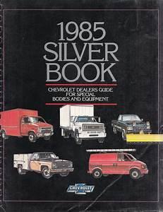 1985 Chevy Truck Repair Shop Manual Original Pickup Blazer Suburban Van Fc