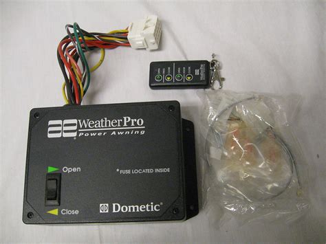 weather pro awning   dometic motor