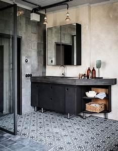 Panneau Hydrofuge Salle De Bain : carreaux de ciment 20 inspirations qui vont vous faire ~ Dailycaller-alerts.com Idées de Décoration