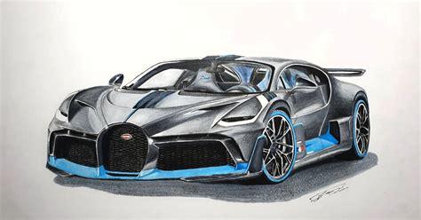 Bugatti chiron sketch by sasha selipanov. Bugatti Divo Drawing Easy - Supercars Gallery