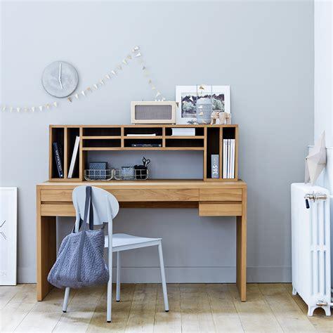 bureau en bureau en teck meuble informatique en bois massif