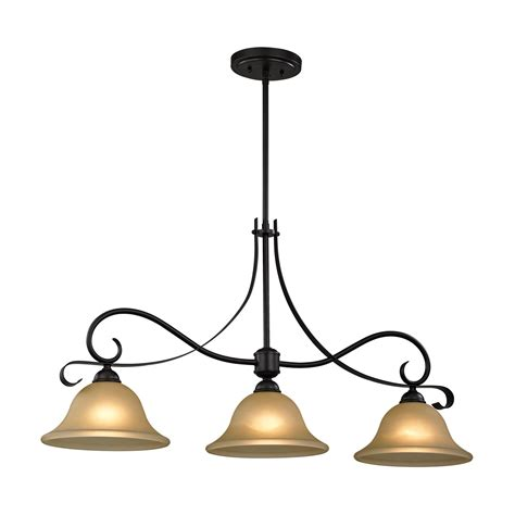 bronze kitchen lighting cornerstone 1003is brighton 3 light island light 1817