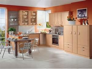 Farbe Für Küchenfronten : k che orange farbe farben f r k che interieur ideen ~ Sanjose-hotels-ca.com Haus und Dekorationen