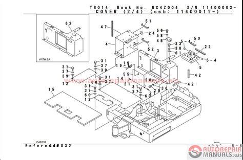 auto repair manual takeuchi parts manual