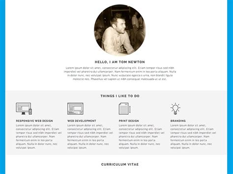 A completed cv aims to impress recruiters and is sent as a. About Me / CV (Résume) by Tom Newton on Dribbble