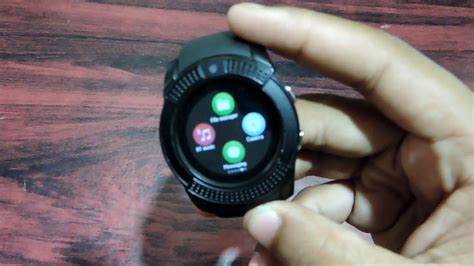 Smart Watch #smartwatch V8 review and unboxing Digital ...