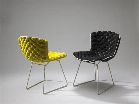 chaise loom clément brazille reinvents the iconic bertoia chair with