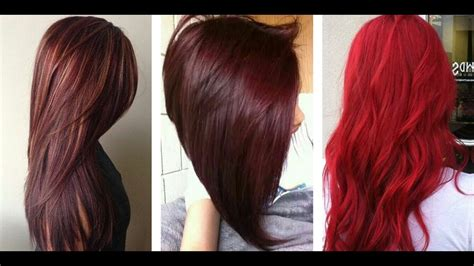The Most Popular Red Hair Color Shades Youtube