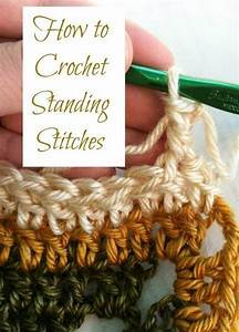 Photo Tutorial  Learn How To Crochet Standing Stitches