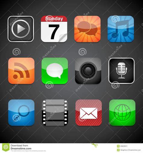 app icons stock image image