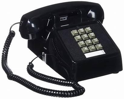 Telephone Desk Cortelco 2500 Bk Line Single
