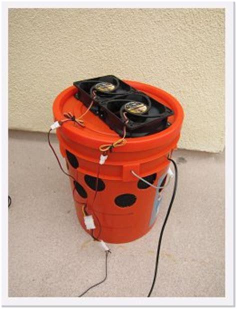 build  diy bucket swamp cooler