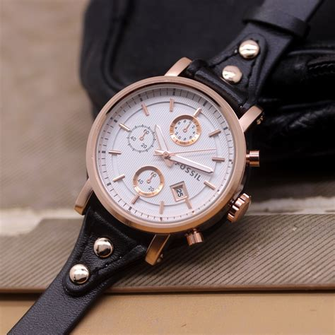 jual tali jam q jam tangan fossil f 020 tali kulit delta jam tangan