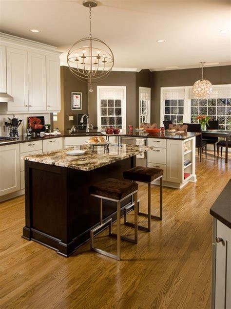 kitchen white cabinets  kitchen  chocolate brown