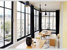 Photos d'un appartement parisien modernisé, entre vintage