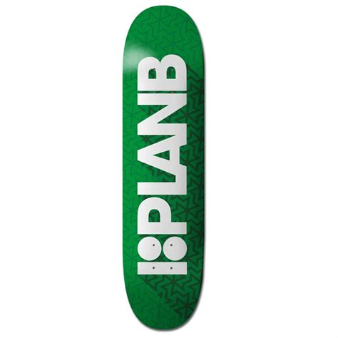 plan b team shadow 7 875 skateboard deck evo outlet