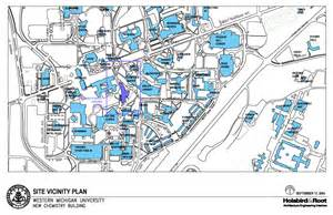construction site plan chemistry building construction project cus planning western michigan