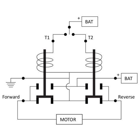 reversing solenoid wiring diagram 4 post solenoid wiring