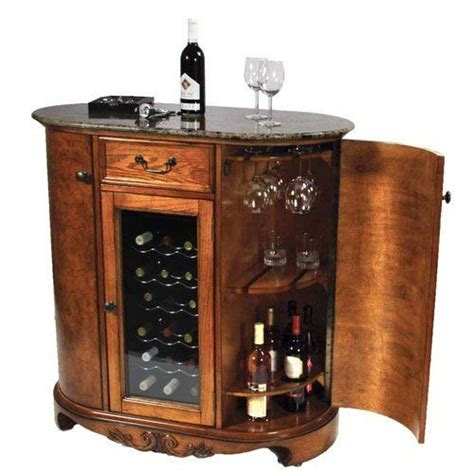 Wine Cooler Wine Bar Cabinet Granite Top By Keller