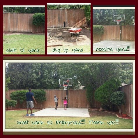 How To Make A Court In Your Backyard by Best 25 Backyard Basketball Court Ideas On