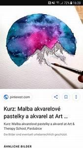 Malen Mit Wasserfarben : kann man mit wasserfarben galaxy style malen kunst zeichnen galaxie ~ Orissabook.com Haus und Dekorationen