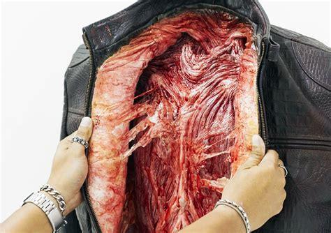 peta asia rattles consumers   bones  bleeding leather goods