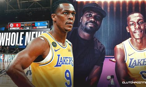 Lakers news: Rajon Rondo reveals how his brother has been ...