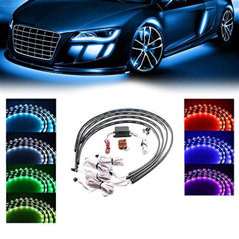 led light strips for cars exterior compare price led light for car exterior on