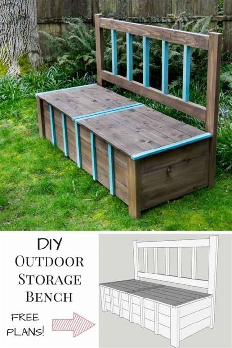 diy storage bench igbuilders challenge  handymans daughter