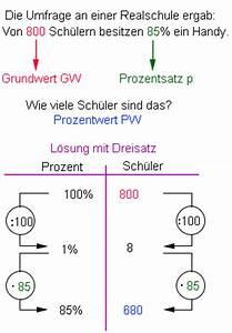 Dreisatz Berechnen : prozentwert berechnen grundbegriffe der prozentrechnung mathematik realschule klasse 6 ~ Themetempest.com Abrechnung