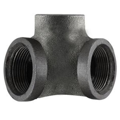 LDR Industries Pipe Decor 1/2 in. Black Iron 90 Degree