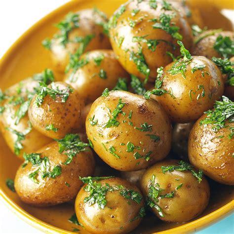 potato dishes recipes roasted baby potatoes with herbs recipe