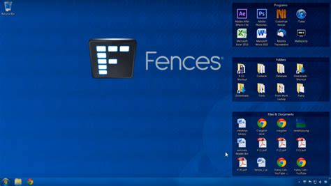 organiser bureau windows 7 fences organiser votre bureau windows mais pas que