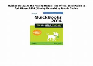 Quickbooks 2014  The Missing Manual  The Official Intuit