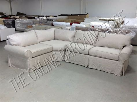 pottery barn loveseat slipcovers pottery barn pb basic sectional sofa slipcover flax