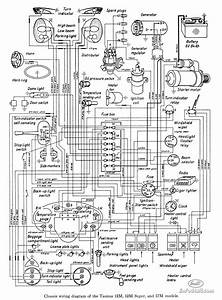 Wiring Diagram For Taunus 12m  12m Super  And 17m Models