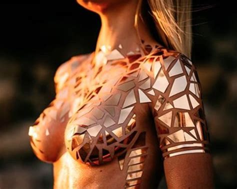 Nsfw Bikinis Made Of Tape Tattoo Ideas Artists And Models