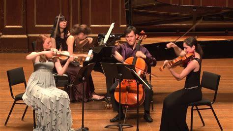 frost quartet brahms piano quartet    major youtube