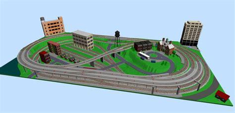 metro style ho layout   subway station