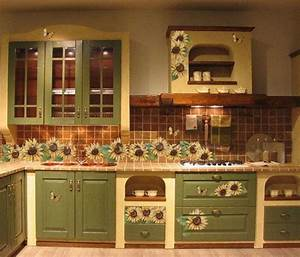 sunflower kitchen decor theme the unique appeal With what kind of paint to use on kitchen cabinets for rvca stickers