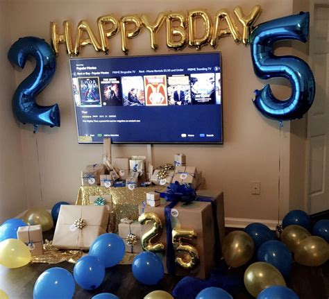 birthday ideas for him for my boyfriends 25th birthday 25 gifts all numbered 25th