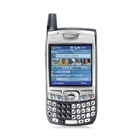 cdma phones unlocked palmone treo 700w cdma smartphone unlocked techgriffin