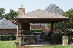 Outdoor Pavilion Cheap Outdoor Structures With Outdoor