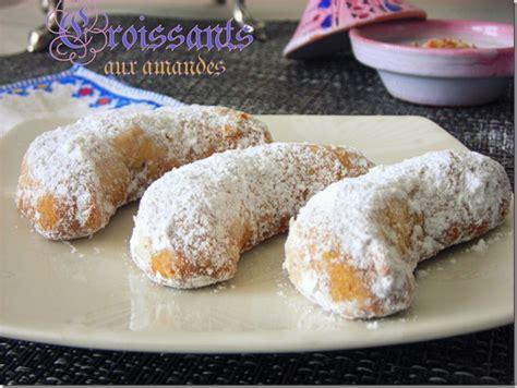 recette cuisine facile rapide croissants aux amandes sans oeufs gateaux aid 2012